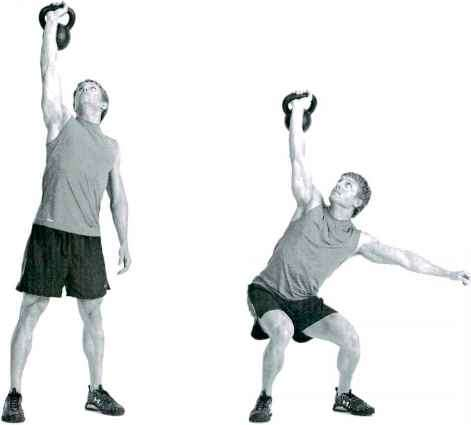 Overhead Squat - Cardio Strength - Fitness VIP