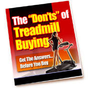 The Donts of Treadmill Buying