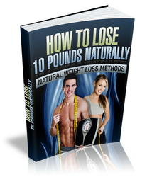 Lose 10 Pounds Naturally
