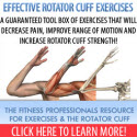 Effective Rotator Cuff Exercise Program (Download) - Save $20
